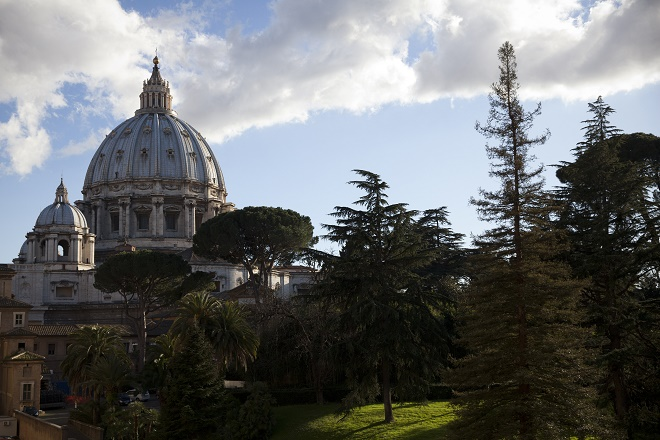 Views Of The Vatican Museum