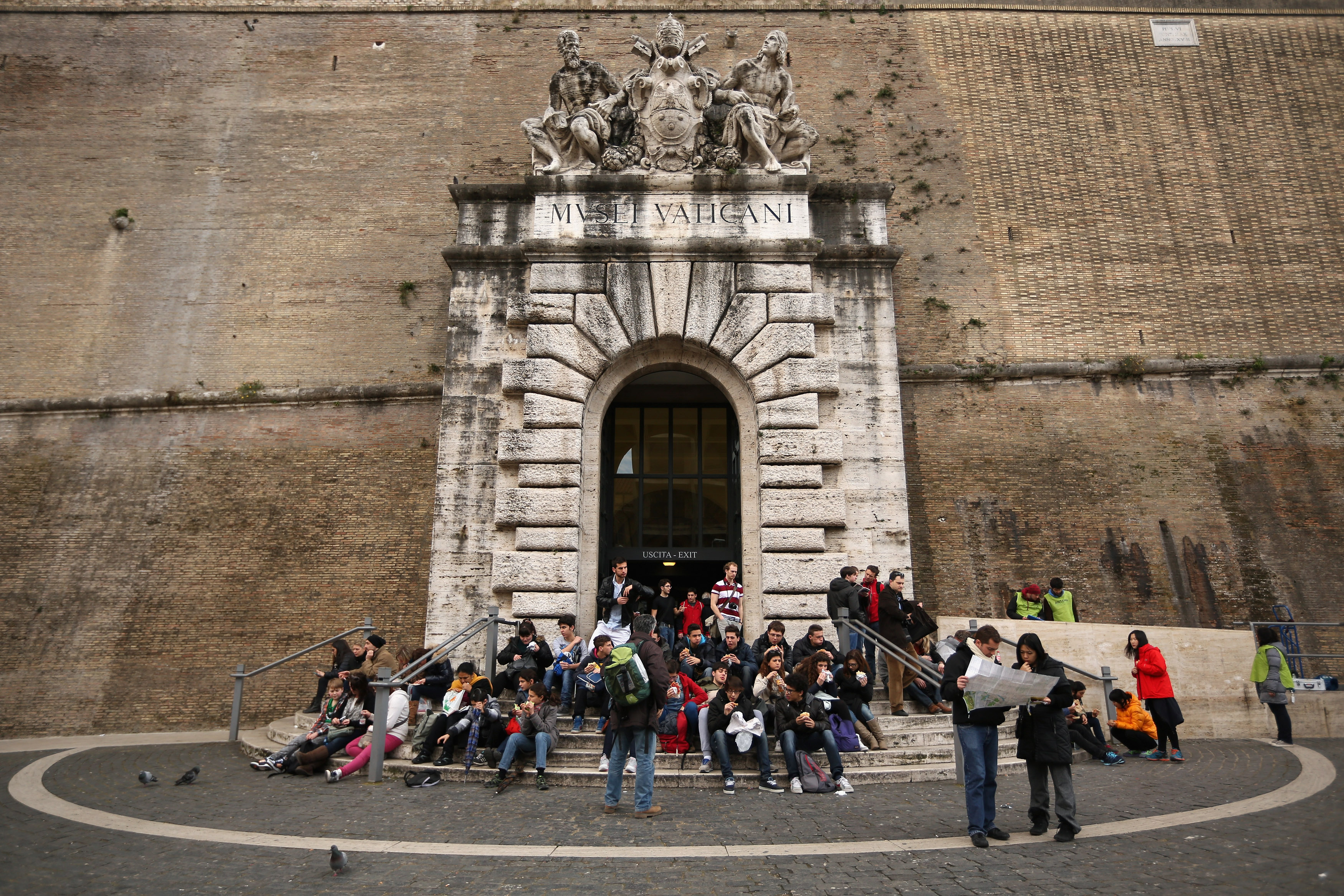 The Vatican Prepares For The Departure This Week Of Pope Benedict XVI