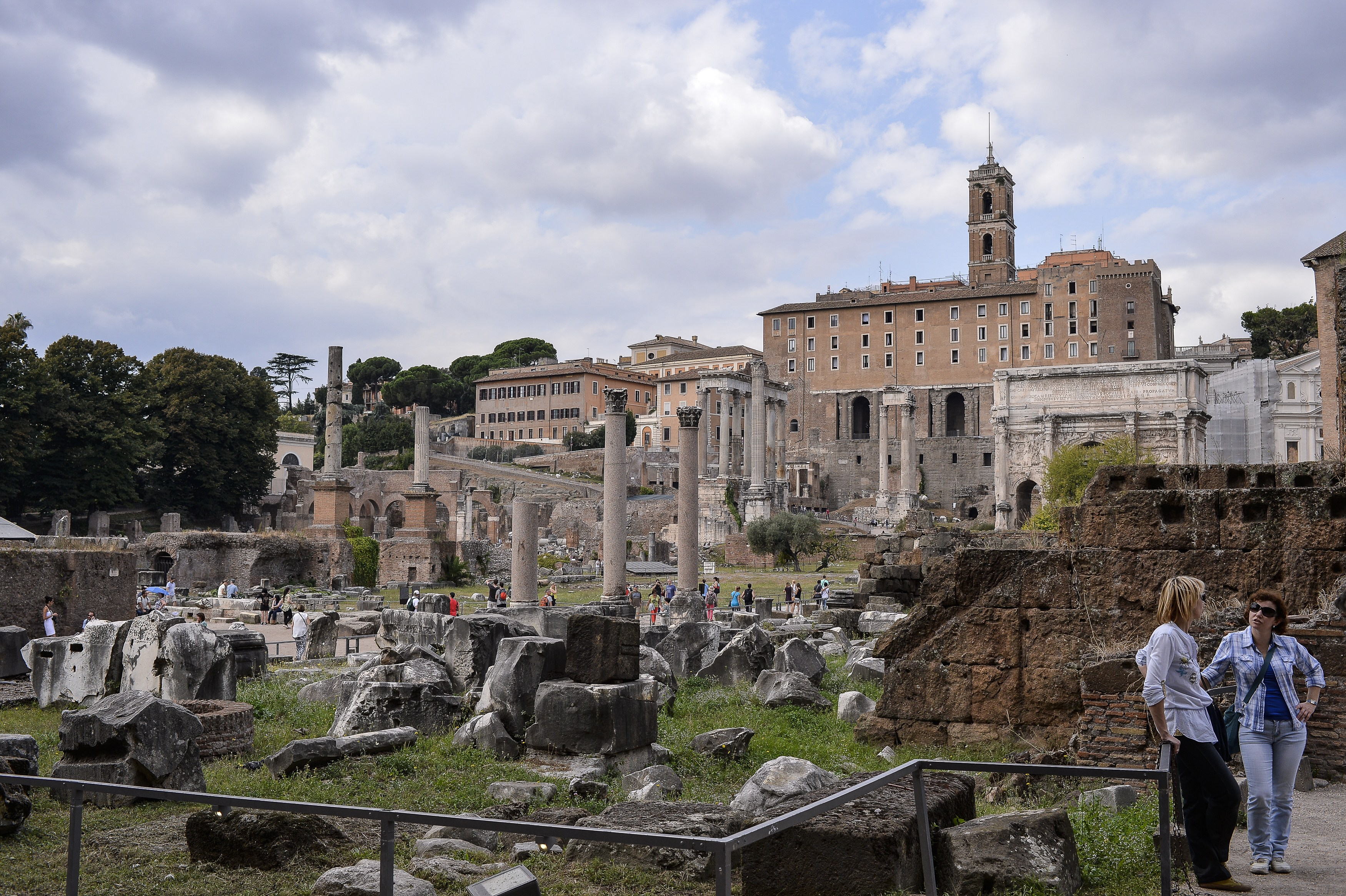 ITALY-ARCHAEOLOGY-FORUM
