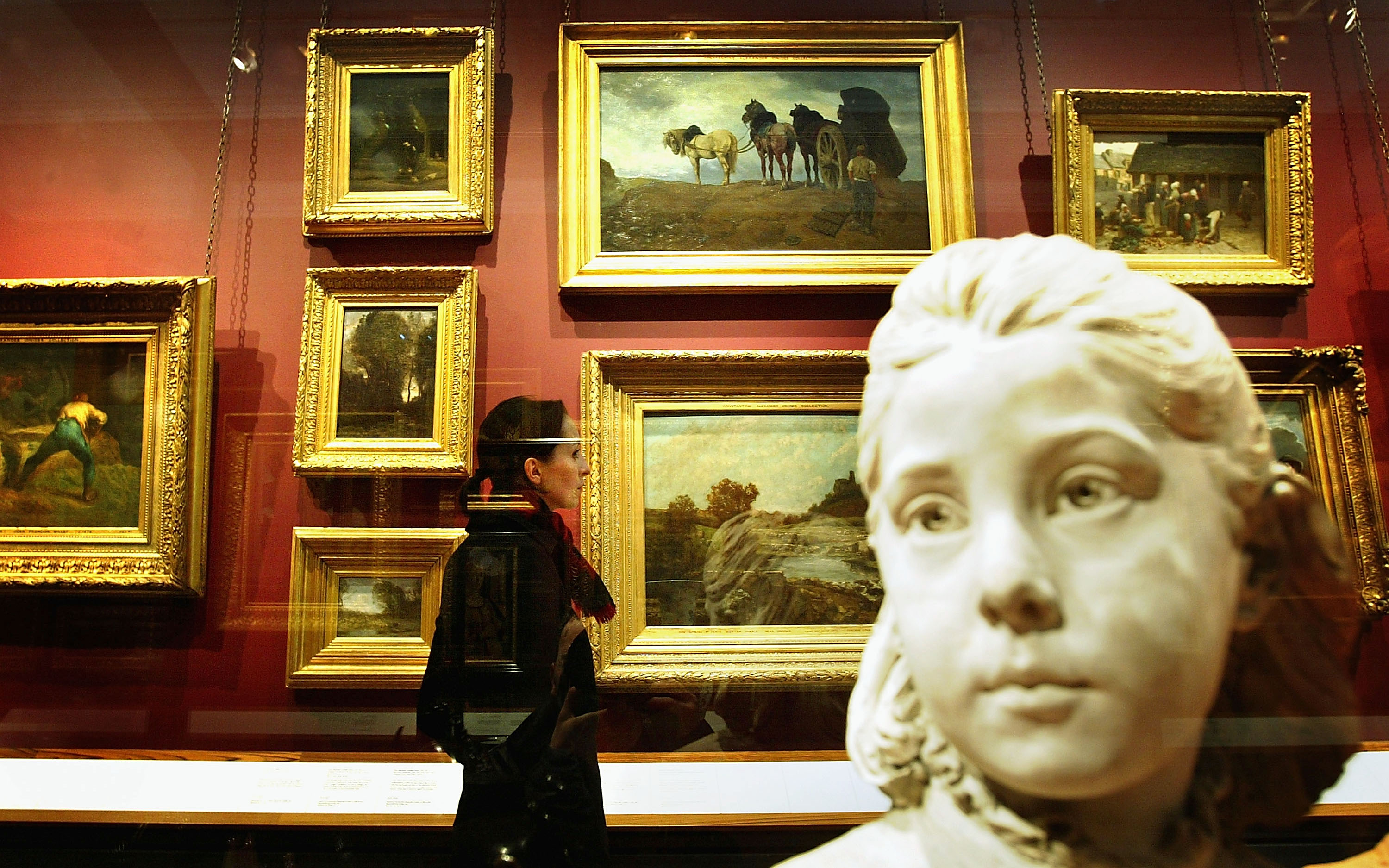 V&A Museum Opens New Suite Of Paintings Gallery