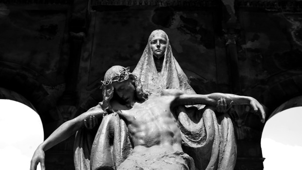 A View Of Milan's Monumental Cemetery