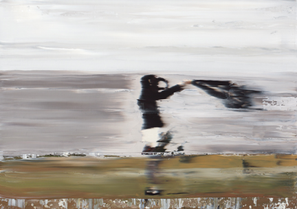 Andy Denzler - Sea Breeze, 2009 Oil on canvas 70 x 100 cm Private Collection