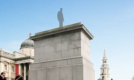 Antony Gormley, Trafalgar Square