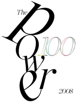 The Power 100 - 2008 - ArtReview
