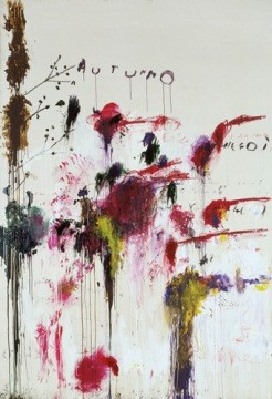 Quattro Stagioni: Autunno - 1993/19955 - © Cy Twombly
