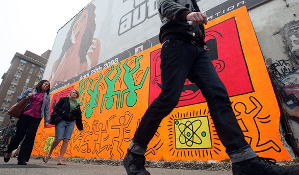 Keith haring- The best 10 street art works