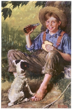 Norman Rockwell - Barefoot Boy