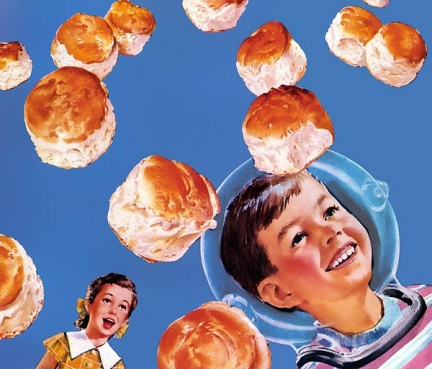 So light they almost fly! - Puffin Biscuits - 1956