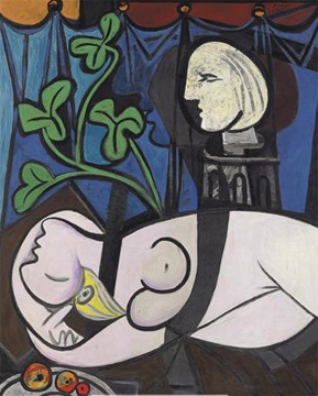 Nude, Green Leaves and Bust - 1932 - Pablo Picasso