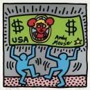 Andy Mouse - 1986 - Keith Haring