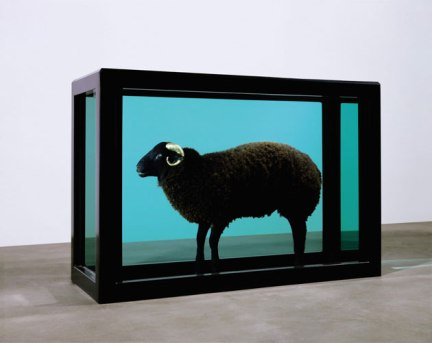 The Black Sheep with the Golden Horn - 2008 - Damien Hirst - Photo Sotheby's