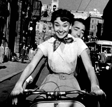 Audrey Hepburn in mostra a Roma