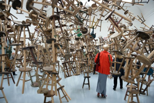 Biennale d'arte di Venezia 2013, Ai Weiwei, padiglione Germania, photo by GABRIEL BOUYS/AFP/Getty Images