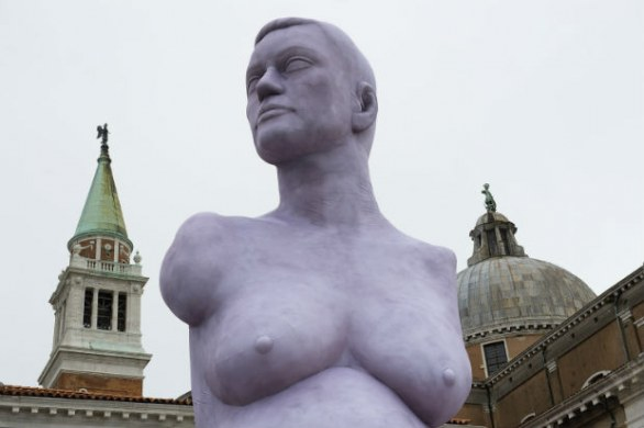 Biennale d'arte di Venezia 2013, 'Alison Lapper Pregnant' by Marc Quinn, Photo by Marco Secchi/Getty Images