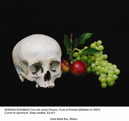 Stilleben 21 (from the series Flowers, Fruits and Portraits) - 2007 - Shirana Shahbazi