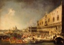 Ingresso solenne del Conte Gergy a Palazzo Ducale - Canaletto - San Pietroburgo, The State Hermitage Museum