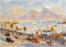 La baia di Napoli con il Vesuvio sullo sfondo - 1881 - Pierre-Auguste Renoir - Williamstown, Massachusetts, The Sterling and Francine Clark Art Institute, Williamstown, Massachusetts