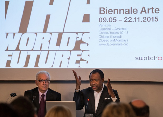 'All the World's Futures' International Art Exhibition Press Conference
