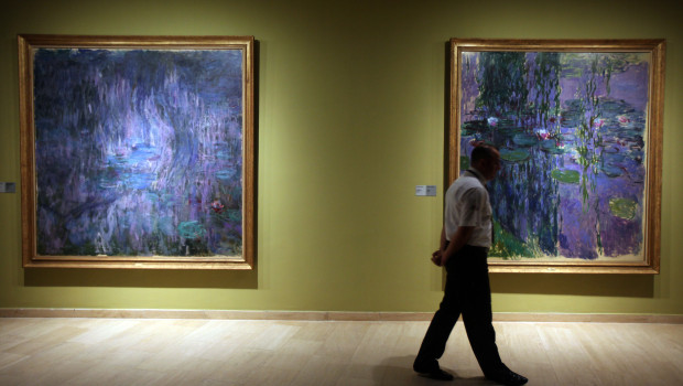 TURKEY-ART-EXHIBITION-MONET