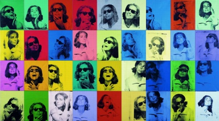 Ethel Scull 36 times - 1963 - Andy Warhol - Whitney Museum of American Art / Metropolitan Museum of Art, New York - © 2009 Andy Warhol Foundation for the visuals arts inc. / Adagp, Paris, 2009