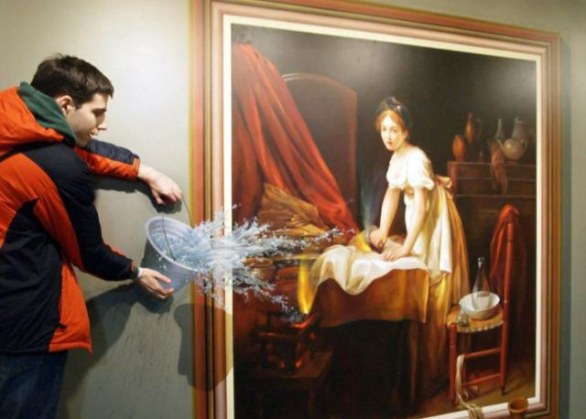 Illusioni ottiche al Trick Eye Museum