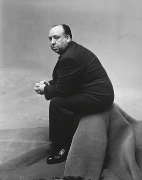 Alfred Hitchcock, New York, 1947, National Portrait Gallery, London © Condé Nast Publications, Inc.