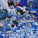Seungwoo and His Blue Things - 2007 - JeongMee Yoon - Jenkins Johnson Gallery