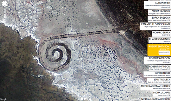 Land Art via Google Earth