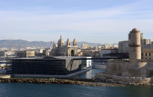 Mucem a Marsiglia, panoramica, photo by GERARD JULIEN/AFP/Getty Images