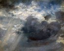 Sky study with a shaft of sunlight - 1822 - John Constable - Cambridge, Fitzwilliam Museum
