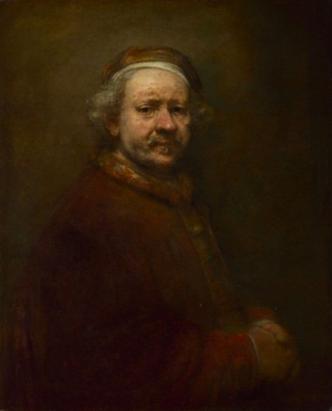 national gallery of London, stagione 2014-2015, Rembrandt, Autoritratto a 63 anni, 1669 © The National Gallery, London