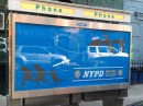 NYPD fake billboards