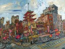 Alan Streets, Canal St With Mott St Chinatown