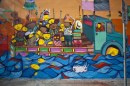 OS Gemeos - Street and museum