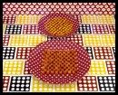 Cubed Carrots and Kernels of Corn - 1978 - Sandy Skoglund