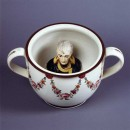 Chamber pot with head of Napoleon - 1805 - Royal Pavilion and Museums, Brighton and Hove