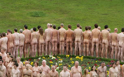 Spencer Tunick a Manchester