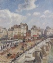 The Pont-Neuf - 1902 - Camille Pissarro - Museum of Fine Arts, Budapest