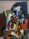 Arlecchino musicista - 1924 - Picasso - Washington, National Gallery of Art, donato da Rita Schreiber in memoria del marito Taft Schreiber, 1989 - © Succession Picasso 2008