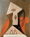 Donna su poltrona rossa - 1929 - Picasso - Houston, The Menil Collection - © Succession Picasso 2008