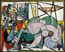 Lo Studio - 1934 - Picasso - Bloomington, Indiana University Art Museum, dono Dr. and Mrs. Henry R. Hope - © Succession Picasso 2008