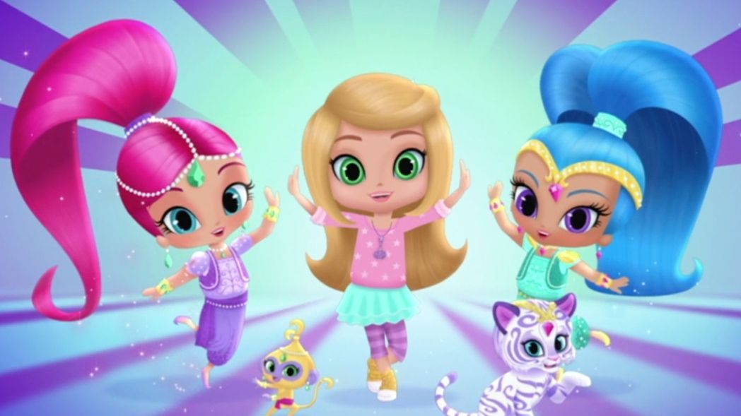 Shimmer and shine sigla testo canzone