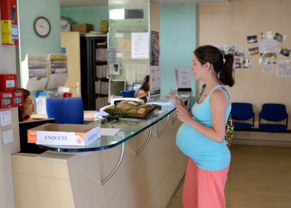 FRANCE-MATERNITY-DELIVERY