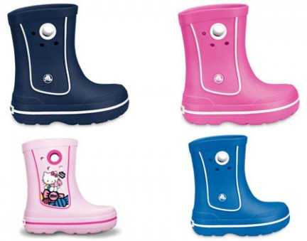 crocs rainboot