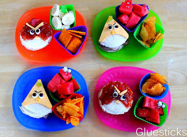 Angry Birds Sandwich