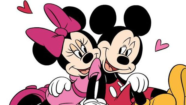 Topolino E Minnie Bacio Da Colorare Gallery Of Topo With Topolino E