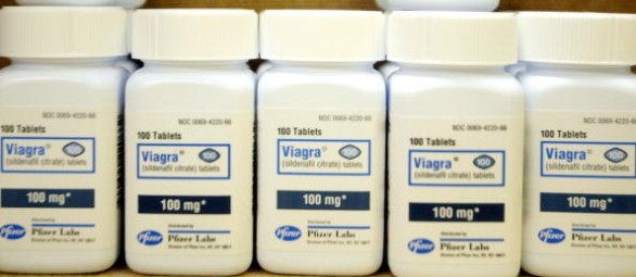 Composition of viagra tablets