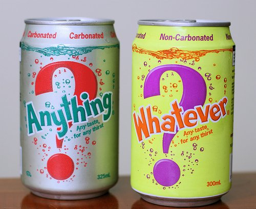 fizzy drinks, cans