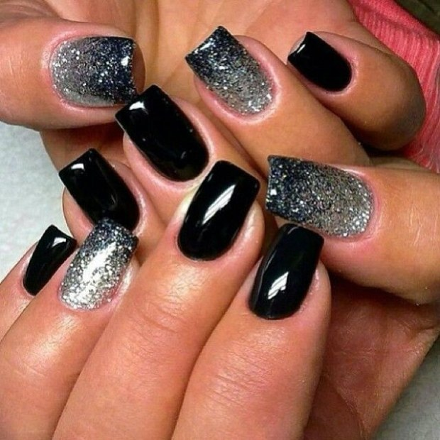 Idee nail art per unghie decorate a Capodanno