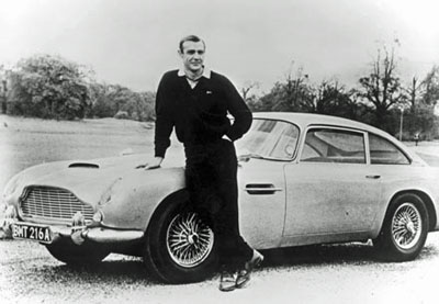 aston martin sean connery